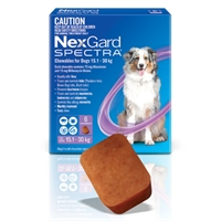 NexGard Spectra Flea, Tick & Worming Chewables for Dogs